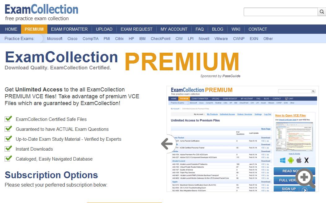 VCE Exam Simulator 1.7.5 for Mac
