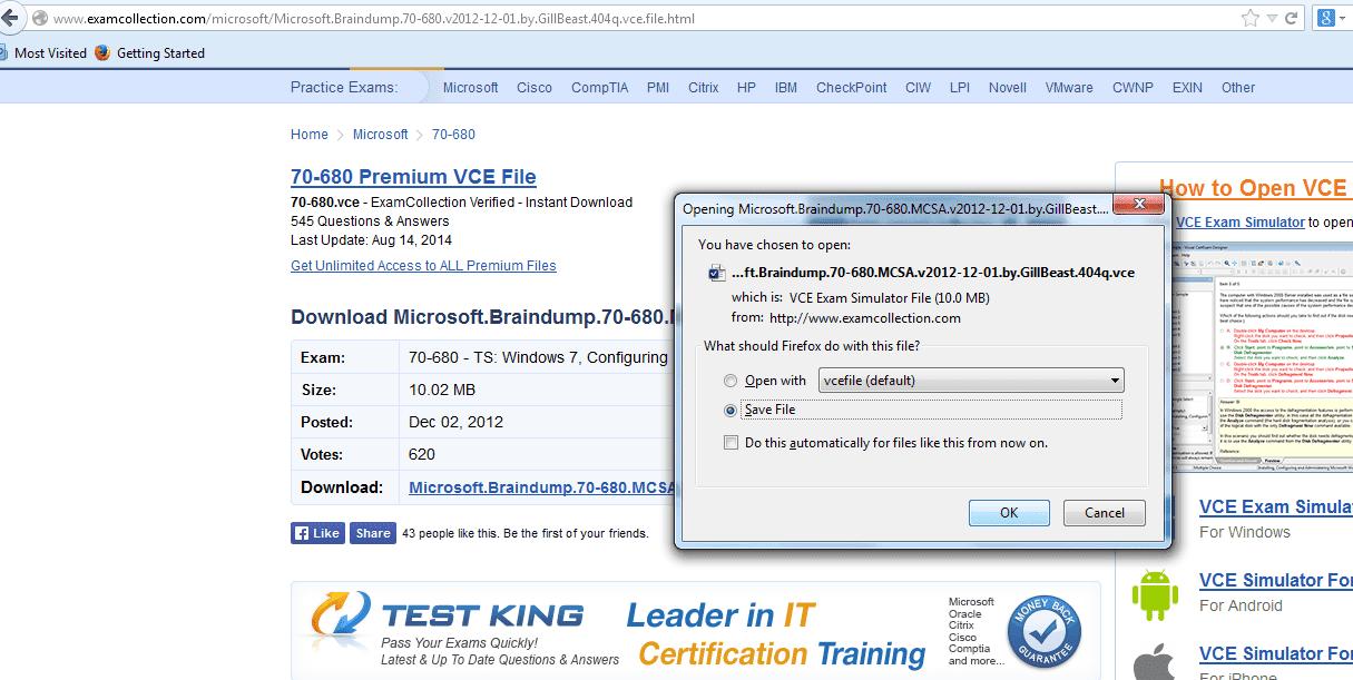 vce exam simulator pro free download